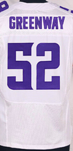 Free Shipping Men's #52 Chad Greenway Jersey Purple White Top Quality Stitched 82 Kyle Rudolph 84 Cordarrelle Patterson Jerseys(China (Mainland))