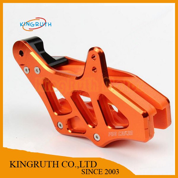 CNC Chain Guide Chain Guard For KTM 125-530 EXC EXCF SX SXF XC XCF XCF-W XCW 08-15 Motocross Enduro Supermoto Free shipping(China (Mainland))