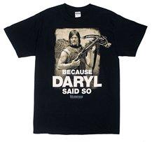 Buy Mens T Shirts Fashion 2017 Walking Dead Daryl Said Mens Black T-shirt for $13.49 in AliExpress store