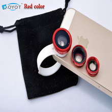 Buy 3 1 Universal Clip camera Mobile Phone Lens Fish Eye + Macro + Wide Angle fisheye iphone 4 5 6 Samsungnote2 3 4 HTC for $1.42 in AliExpress store