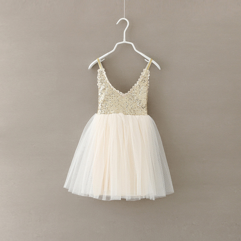 Girls Dress Sequin Tulle Dresses For Girl Party Kids Back Lace V Neck Evening Dresses 5PCS/lot(China (Mainland))