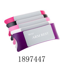 Abody Brand Comfortable Nail Art Hand Holder Cushion Plastic&Silicone Cushion Nail Arm Rest Manicure Accessories Tool Equipment(China (Mainland))