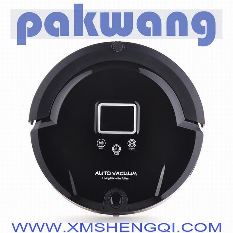 A320 Electric Home Appliance UV Lamp Mop LCD Screen Auto Household Washing Robot Vacuum Cleaner(China (Mainland))