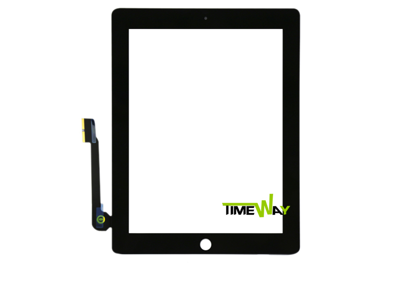 20pcs/lot touch screen Glass replacement digitizer for iPad 3 for ipad 4 digitizer panel touch screen Free DHL/EMS shipping
