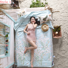 2016 new product 100% cotton fabric super healthy and comfortable quilt summer home textiles(China (Mainland))