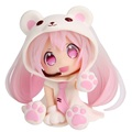 3styles Vocaloid snow Hatsune Miku bear ver so cute pvc action figure model toy doll 6cm