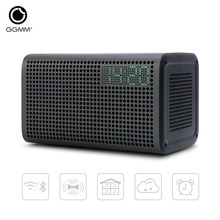 GGMM E3 WiFi Wireless Bluetooth Speaker Handsfree Audio Home Theatre Stereo System Computer Speakers with LED Alarm Loudspeakers(China (Mainland))