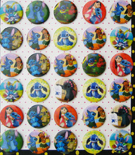 Lilo & Stitch 4.3 CM 30 pieces/lot set PIN BADGES new Cartoon& animation PIN back BUTTONS PARTY BAG GIFT CLOTH