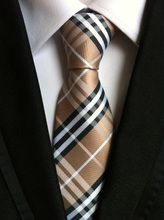 2015 TOP Formal occasional necktie famous plaids tie(China (Mainland))