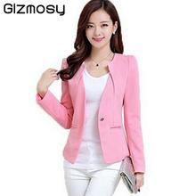 Spring Women Slim Blazer Coat 2016 New Fashion Casual Jacket Long Sleeve One Button Suit Ladies Blazers Work Wear BN1005BN(China (Mainland))