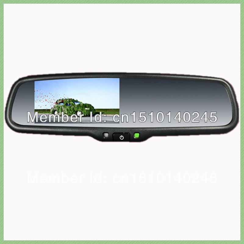 Car Rear View Mirror 4 3 Inch Reverse Camera Display For Toyota Corolla Rav4 Prado 10prado