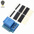 Relay Module For D1 MINI 5V hight level trigger One 1 Channel Relay Module interface Board