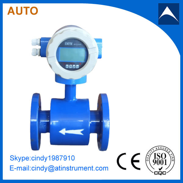 Waste and dirty water Digital electromagnetic flow meter made in China(China (Mainland))