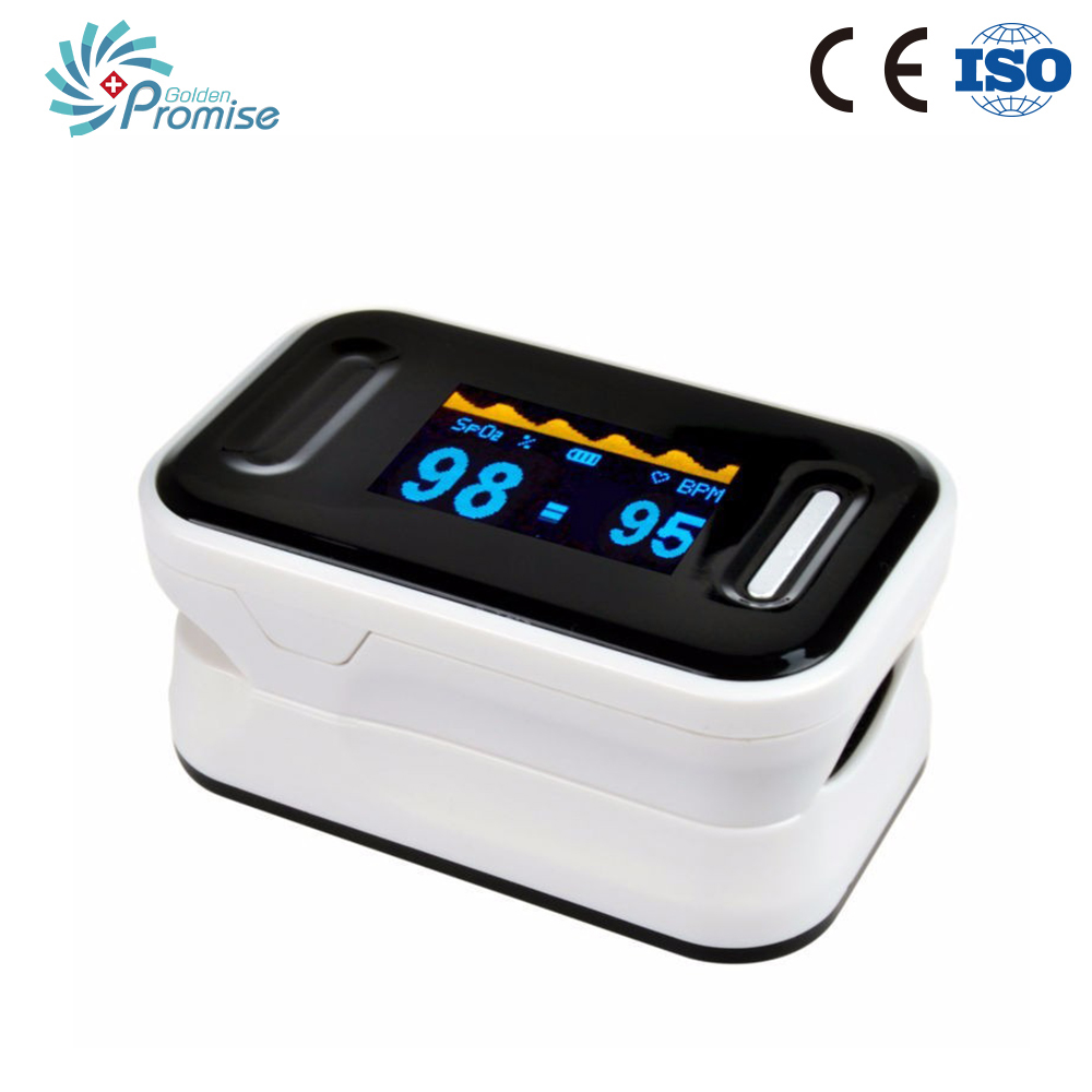 Oximetro Pulse Oximeter De Pulso De Dedo Fingertip Pulse Oximeter 3 Color Pulsioximetro Oled Heart Rate Monitor(China (Mainland))