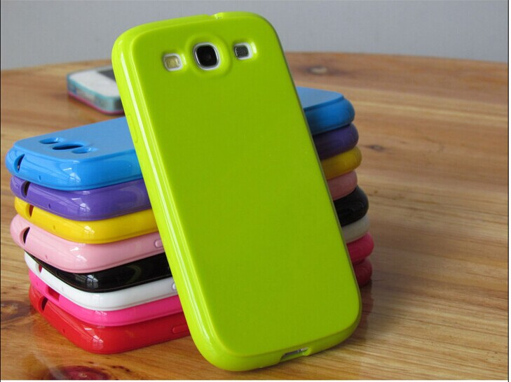 Soft silicone Rubber TPU Gel Case Cover Samsung Galaxy S3 SIII i9300 case gift - Miss Chen in Shenzhen store