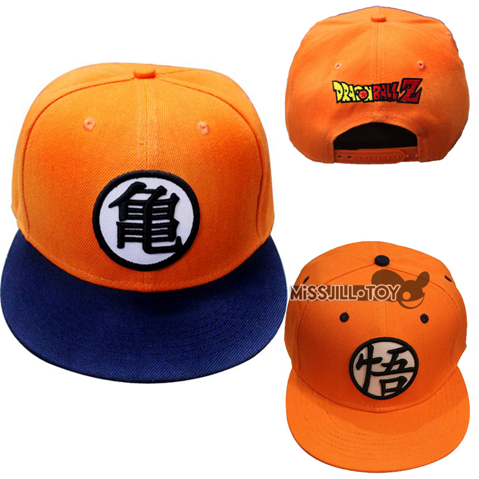 2style High quality Dragon ball Z Goku hat Snapback Flat Hip Hop caps Casual baseball cap for Men women kids birthday GIFT(China (Mainland))
