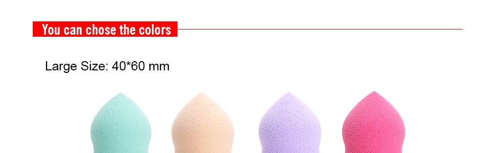 Atacado 1 pc 14 Cores para escolher de Maquiagem Esponja sopro maquiagem Beleza Fundação Fundação Make up puff Esponja Suave Cosméticos sopro