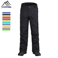 New Brand Women Men Winter Snowboard Pants Outdoor Snow Thermal Pants Thicken Warmth Ski Trousers Waterproof