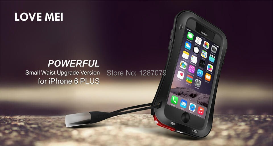 love lei Post free high quality mobile phone small waist fall protection shell for iphone6 plus 5.5(China (Mainland))