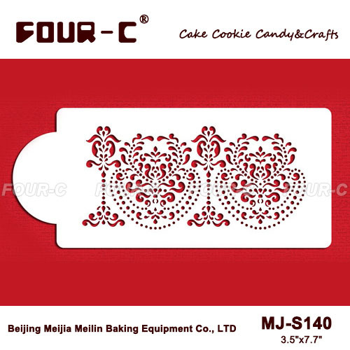 2014 New Rosepoint Lace Cake Side stencils,cake decorating ...
