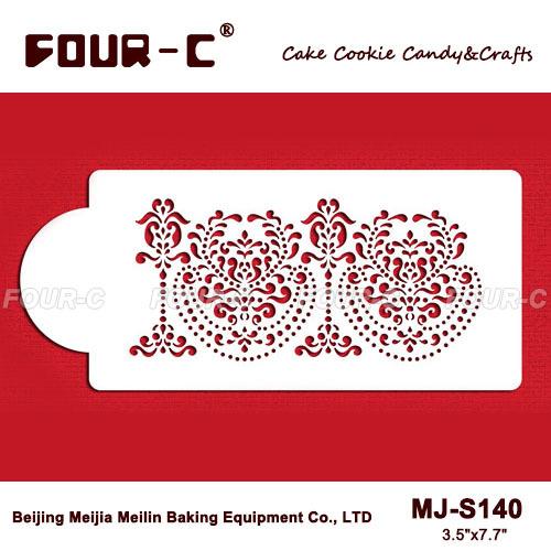 Cake Decorating Company Promo Code : 2014 New Rosepoint Lace Cake Side stencils,cake decorating ...