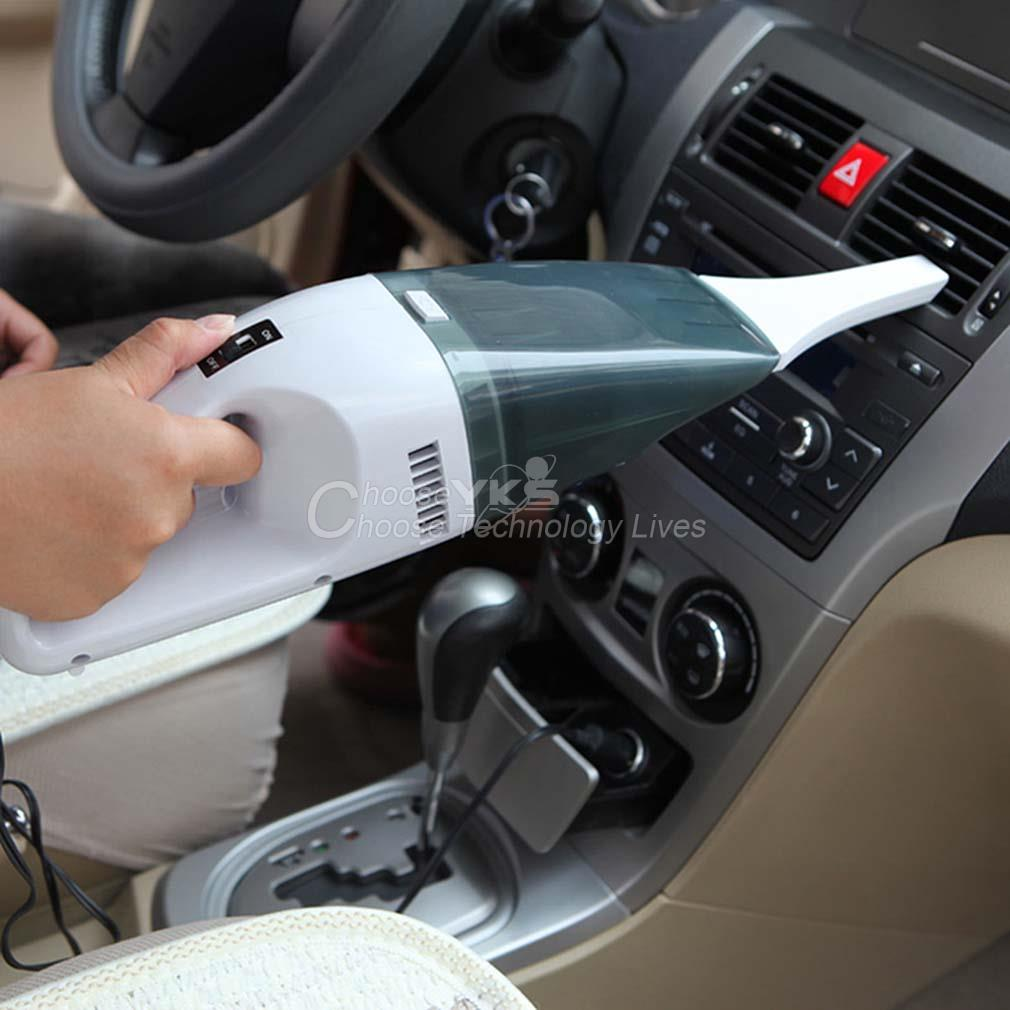 90W Super Suction Mini 12V Wet and Dry Handheld Portable Car Vacuum Cleaner YKS(China (Mainland))