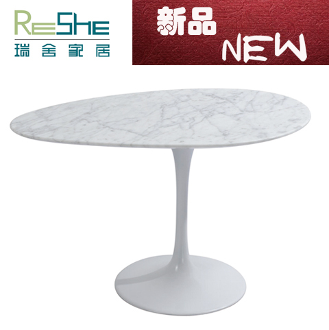 simple black and white pattern marble coffee table modern european art of creative home style