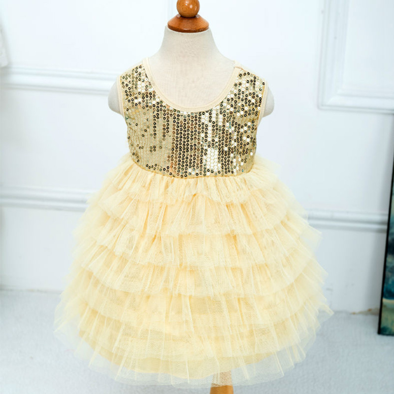 Summer baby girl sequin party dress kids christmas dress for Dresses to wear to a christmas wedding