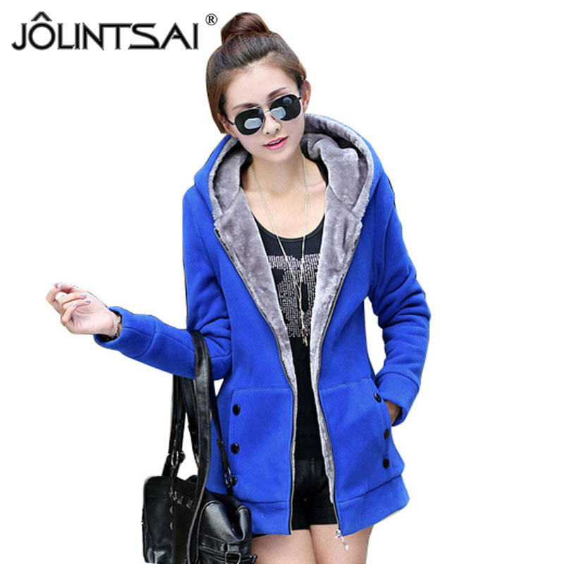 2016 New Fashion winter women jackets coat High Quality Casual Thicken Warm Hooded Jacket Mid-length Coat AE-LN-562()