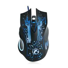 HOT Wired Gaming Mouse Professional USB Mouse Optical Computer Mouse 6 Buttons E-Sports Mice Ratones Pc High Quality 5000DPI X9