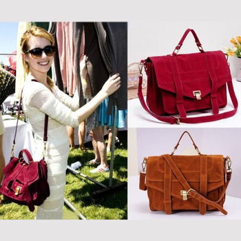 Women's handbag bags emma roberts savce cranberry ps1 vintage genuine leather messenger bag handbag messenger bag  GG4090