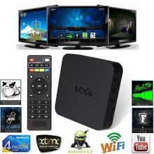 MXQ Android 4.4 TV Box WIFI XBMC Amlogic S805 Quad Core 1+8GB DLNA Miracast 1080P H.265 HD Media Player Set Top Box Free Ship