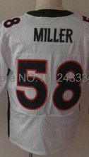 18 Peyton Manning Jersey,58 Von Miller,88 Demaryius Thomas,87 Eric Decker Jersey,Stitched Elite Jerseys(China (Mainland))