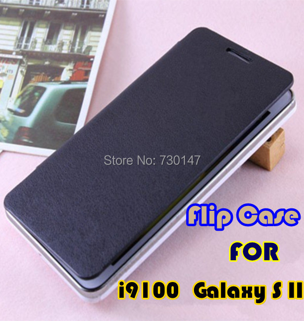 Back Cover Battery Replacement Housing Flip Leather Mobile Phone Case Samsung Galaxy S2 SII i9100 - SHENZHEN KAYKAY TRADE CO., LTD store