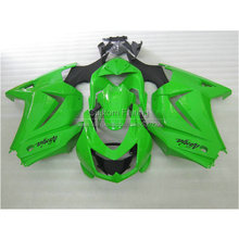 Buy Injection molded Fairing kit Kawasaki ninja 250r 2008-2014 ABS fairings EX250 08 09 10 11 12 13 14 green black sets RR19 for $335.80 in AliExpress store