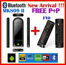 Hot sale! Bluetooth MK809 II Dual Core Mini Android 4.1 PC RK3066 1.6Ghz Cortex A9 1GB / 8G + MELE F10 Air Mouse(China (Mainland))
