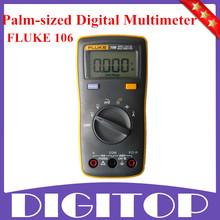 2014 nuevo FLUKE 106 F106 tamaño de la palma multímetro Digital más pequeño que F15B envío gratis