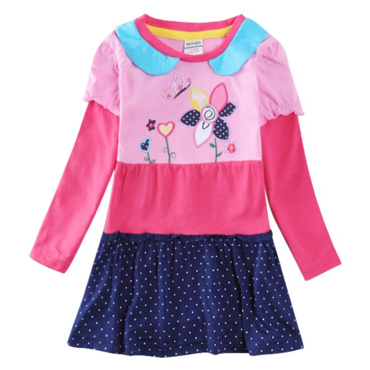 Aliexpress buy long sleeve kids party dress children