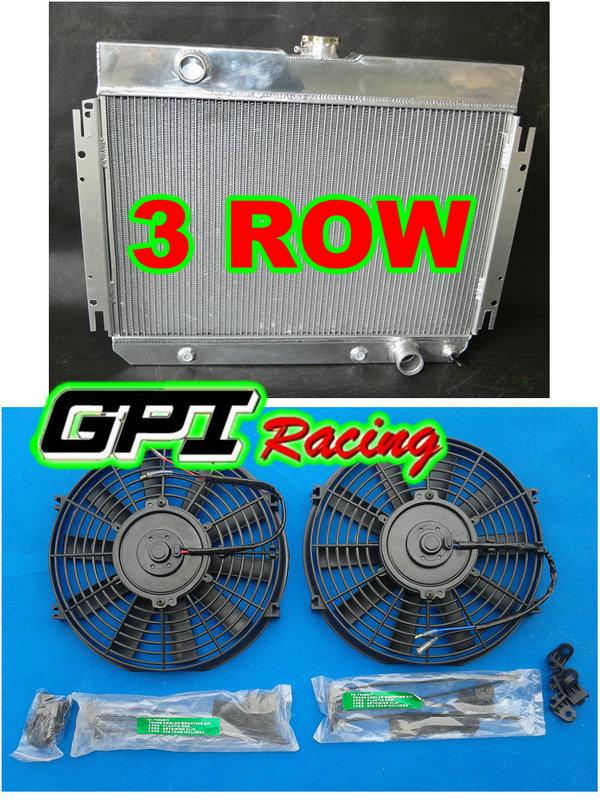 ALUMINUM RADIATOR 1964 1965 1966 1967 FOR Chevy FOR Chevelle El FOR amino 64 65 66 67 + fan