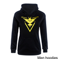 Plus Size Pokemon Go Men Printed Hoodies Sweatshirts Cotton 2016 Autumn Winter Long Sleeve Men Tops