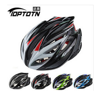 TOPTOTN T-104 brand pro bicycle/cycling helmet Ultralight and Integrally-molded 21 air vents bike helmet Dual use MTB or Road(China (Mainland))