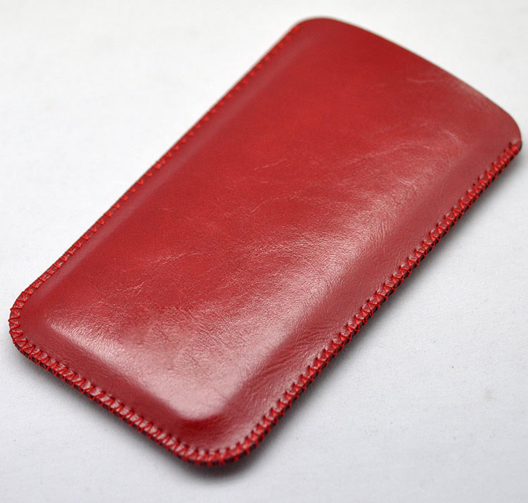 Fashion Wax oil Leather Case Sleeve Bag For Prestigio Grace Q5 PSP5506 DUO Phone Cover Pocket(China (Mainland))