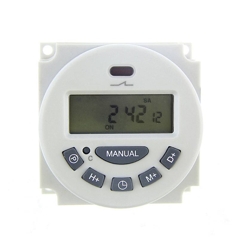 Hot-sale Digital LCD Programmable Timer Time Relay Switch Weekly Programmable Electronic Timer 12V/24V/110V/220V for Choice(China (Mainland))