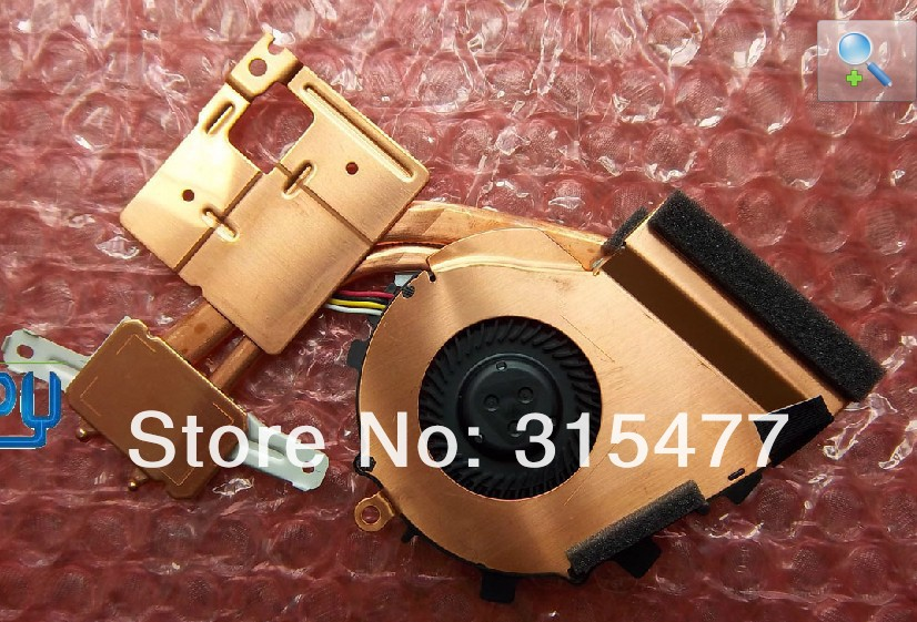 New laptop CPU cooler and cooling fan for sony vaio VPC Z13Z9E with heatsink computer(China (Mainland))