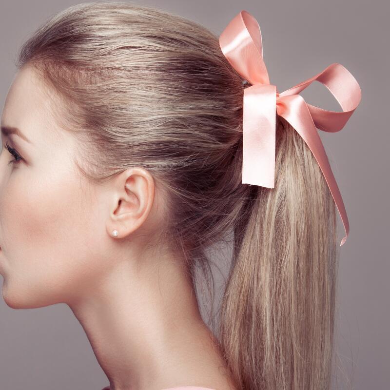 Coiffures ruban promotion achetez des coiffures ruban promotionnels sur alibaba - Accessoire chignon rapide ...