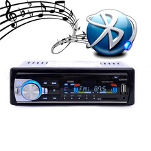 Hands-free Calls Autoradio Car Radio Bluetooth Audio Stereo In Dash FM Aux Input Receiver USB Disk SD Card with Remote(China (Mainland))