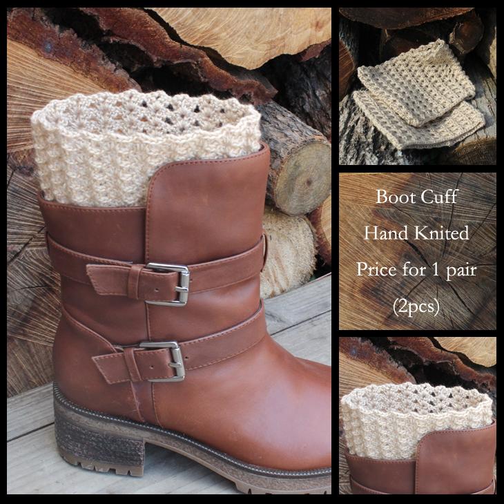 Korean Women Lady Winter Knitted Crochet Socks Leg Boots Warmer Cover Leggings Free Shipping(China (Mainland))