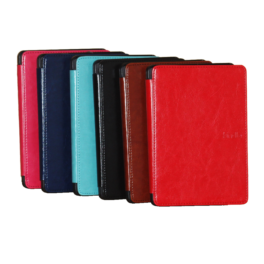 For Amazon kindle paperwhite Wifi 3G smart cover case DHL free shipping 50pcs/lot<br><br>Aliexpress