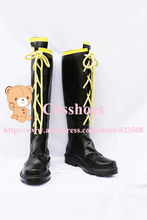 Custom made Kagamine Len Shoes boots from vocaloid Cosplay