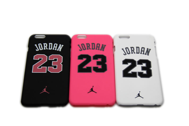 Brand New Fashion Jordan NO.23 PC Case For iPhone5 5s 6 6plus Skin Free Shipping(China (Mainland))